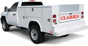 Clarks Garage Door Repair Work-truck