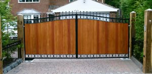 Automatic Gates Washington DC wood-automatic-gate-repair-installation-service