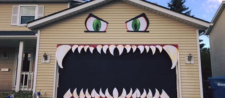 The Tale Of The Monster… Garage Door?