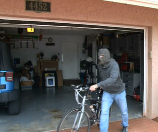 thief of garage doors