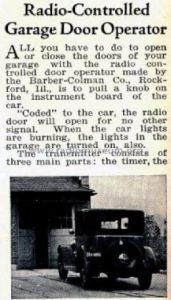 historical-garage-door-newspaper-clipping-of-garage-door-opener