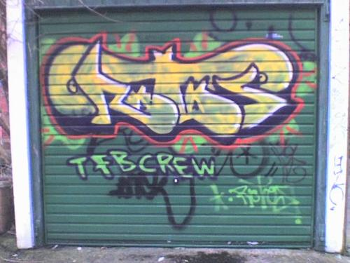 garage door artCheck Out That Graffiti Its On Your Garage Door
