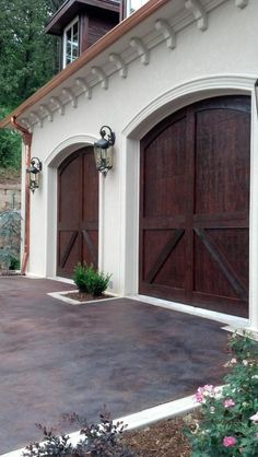 do you want double doors or just one big garage door how about the framework and an electric opener for the garage door and the garage door will probably