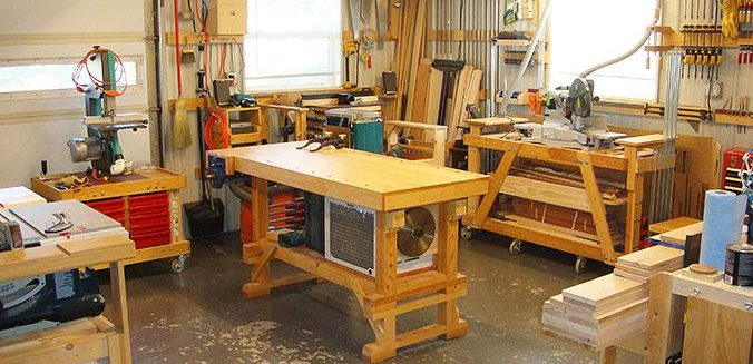 How to Create the Perfect Garage Workshop