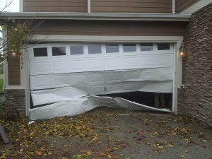 Tips of Strom-Damage Garage Door - Clarks Garage Door & Gate Repair