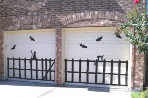 Halloween Garage - Clarks Garage Door & Gate Repair