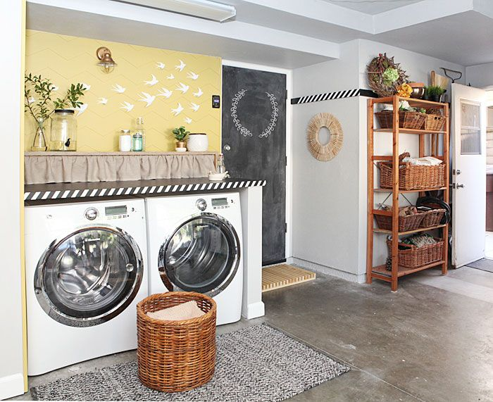 Turn Your Garage Into A Laundry Room Garage Blog