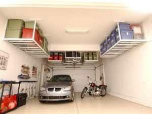 Ceiling Storage For your Garage Door - Clarks Garage Door & Gate Repair