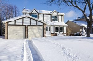 Keep Ice and Snow away from your Garage Door - Clarks Garage Door & Gate Repair